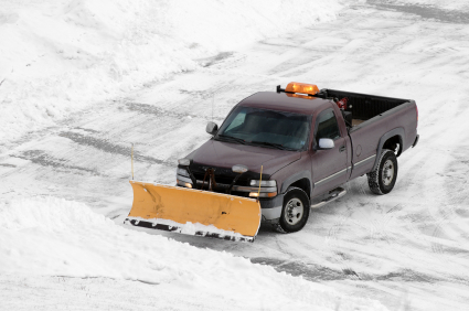 Indianapolis snow removal and plowing by C & R Concrete