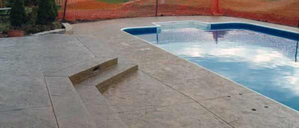 pool decks in concrete by C & R Concrete Indianapolis