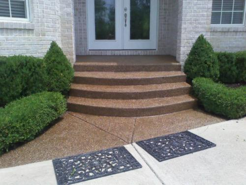 aggregate entry steps Indianapolis Indiana