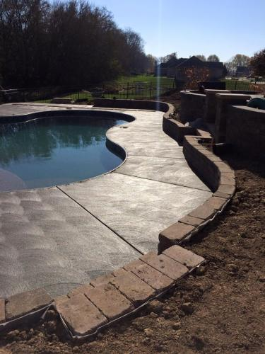concrete pool decks contractors in Indianapolis Indiana
