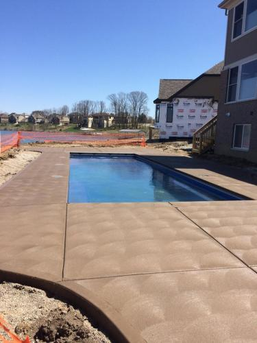 Top rated Indianapolis concrete pool deck contractor C & R Concrete
